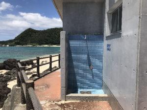 打田原ビーチ、シャワー