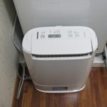 除湿室内乾燥機も完備
